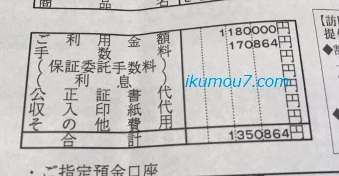 20歳の僕がAGAクリニックで払うことになった135万円の明細書